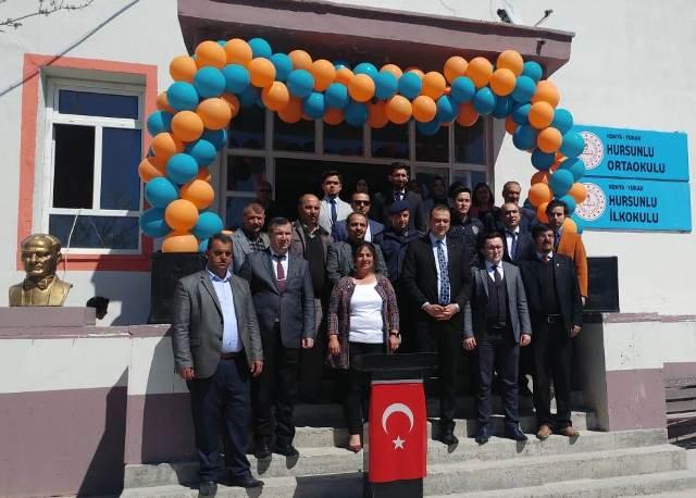 Yunak Hursunlu'da okuma bayramı