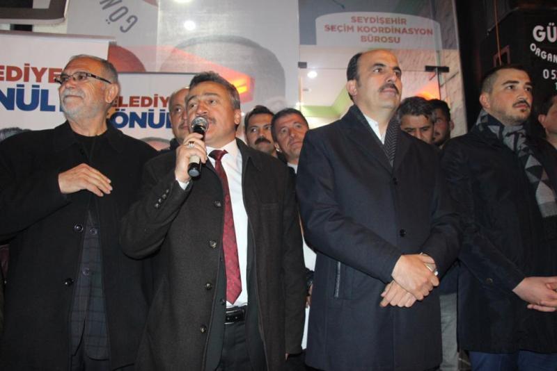 Seydişehir SKM'de buluşmalar sürüyor