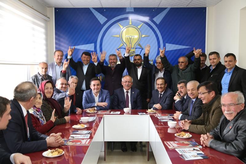MHP'li Mustafa Kalaycı Hadim'de destek istedi