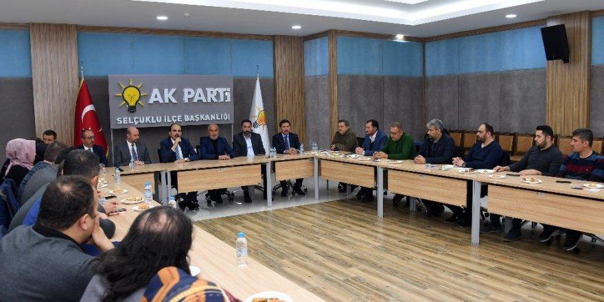 AK Parti Teşkilatlarına teşekkür ziyareti