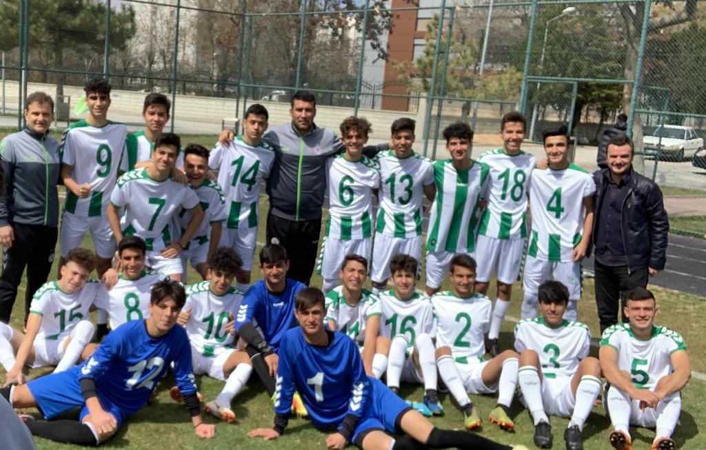 Konyaspor'un amatörde başarıları sürüyor
