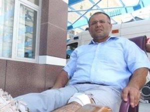 Konyada doktora bıçaklı saldırı