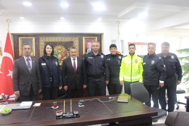 Başkan Tutal'a hayırlı olsun ziyaretler