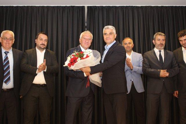 Bozkır Belediyesi'nde  devir teslim töreni