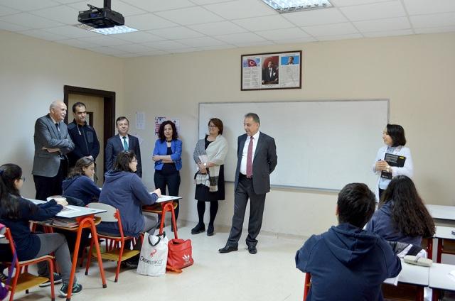 Vali Orhan Toprak, TED Konya'yı ziyaret etti