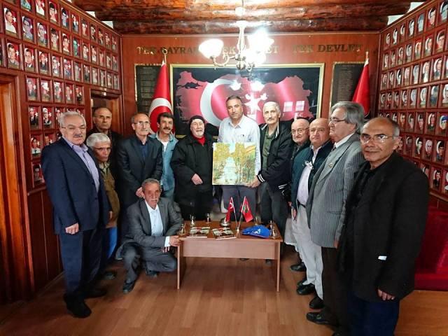 Harp Malulü Gaziler  Derneği'ne ziyaret