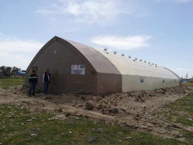 Çadır hayvan barınaklarının  sahipleri kurayla belirlendi