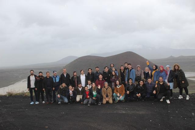 Coğrafya öğretmenliği bölümü  öğrencileri Karapınar'a geldi