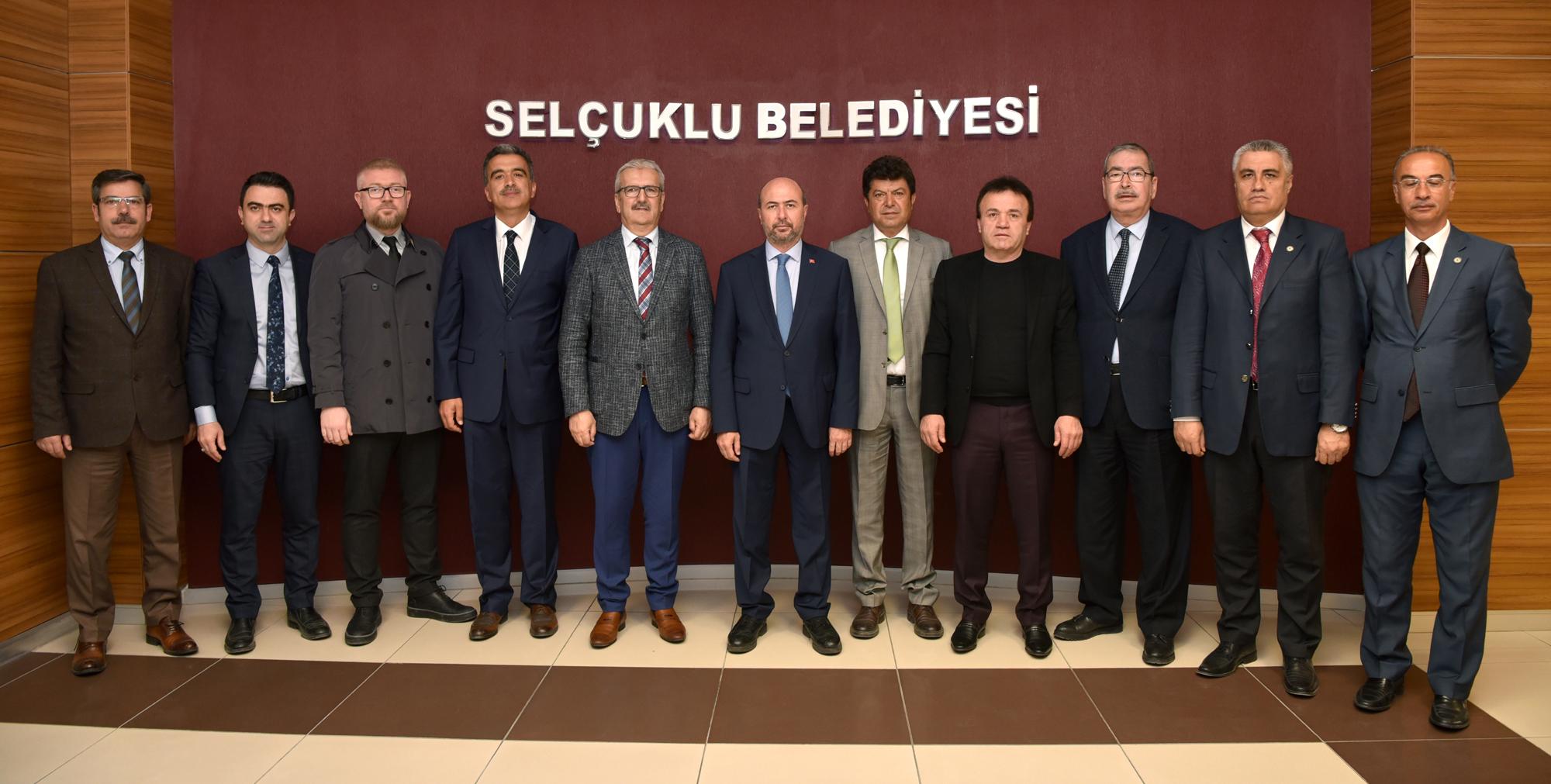 Konya ASKF'den Başkan Pekyatırmacı'ya ziyaret