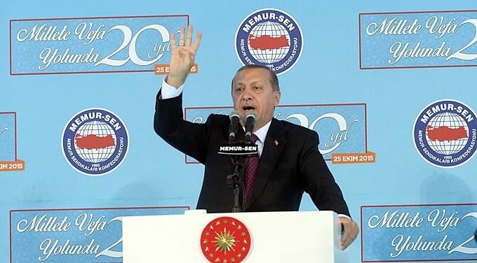 Erdoğan birlik beraberlik mesajı verdi