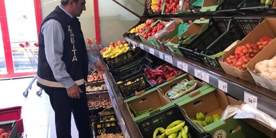 Seydişehir Belediyesi zabıta ekiplerinden esnaf denetimi