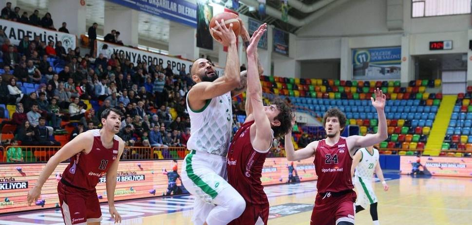 Konyaspor Basket evinde kaybetti