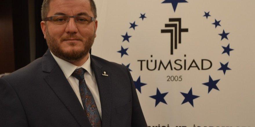 TÜMSİAD Konya Şube Başkanı Serçe'den 23 Nisan mesajı