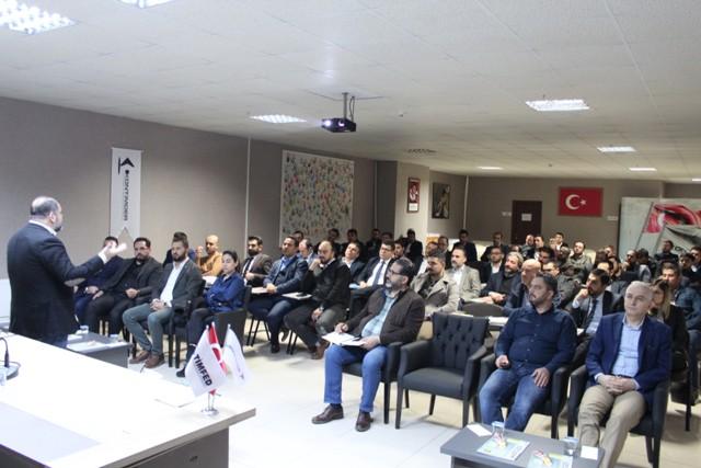 KONTİMDER'de 'Satış ve  Satıcı' semineri düzenlendi