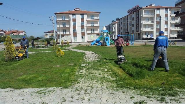 Beyşehir Belediyesi ilçeyi  yaz dönemine hazırlıyor