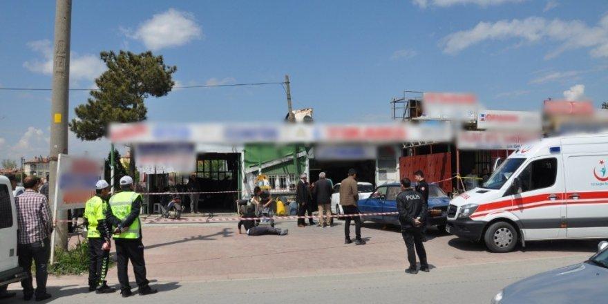 Konya'da esnafların kavgası cinayetle bitti: 1 ölü