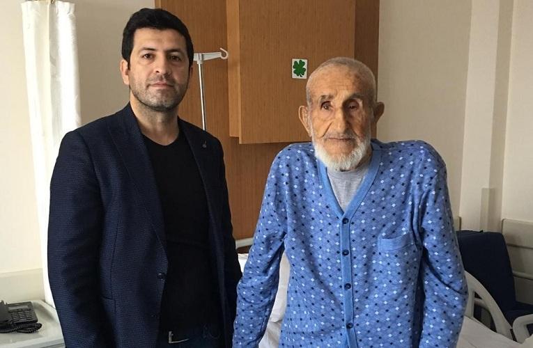 101 yaşındaki hasta kalça ameliyatıyla sağlığına kavuştu