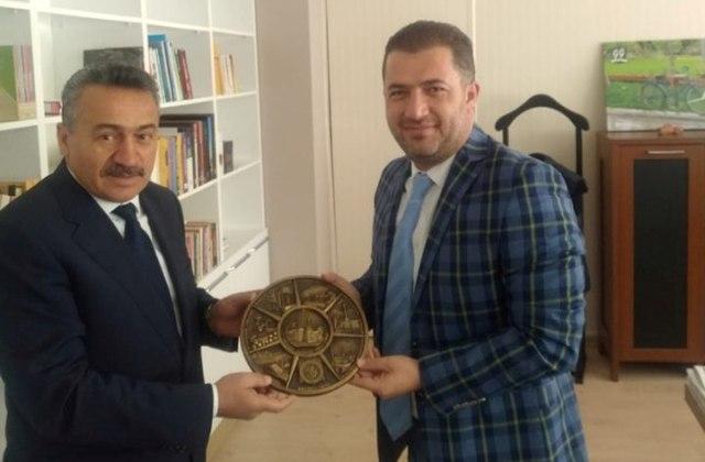 Tutal'dan daire başkanlarına ziyaret