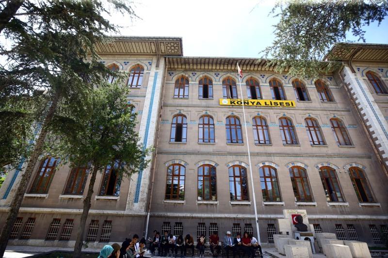 Türkiye'nin asırlık eğitim yuvası: KONYA LİSESİ