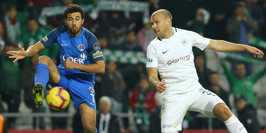 Atiker Konyaspor  son deplasmanda