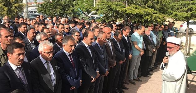 Altay'ın kayınpederi Mehmet Koyuncu son yolculuğuna uğurlandı