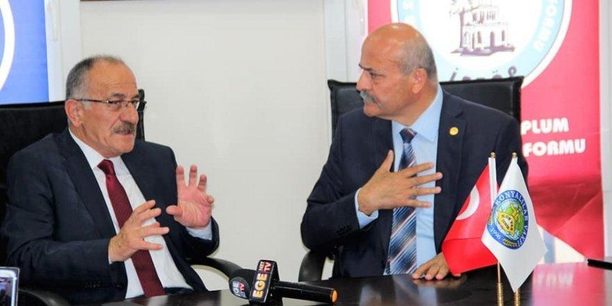 """Başkan Bayındır: """"Beyşehir tek yumruk olmak zorunda"""""""