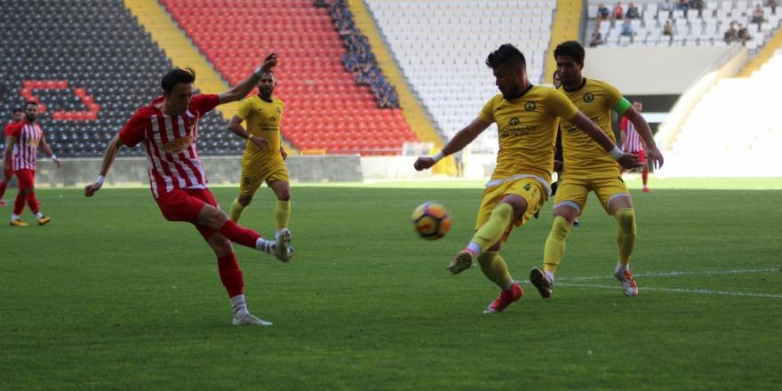 Akşehirspor başaramadı