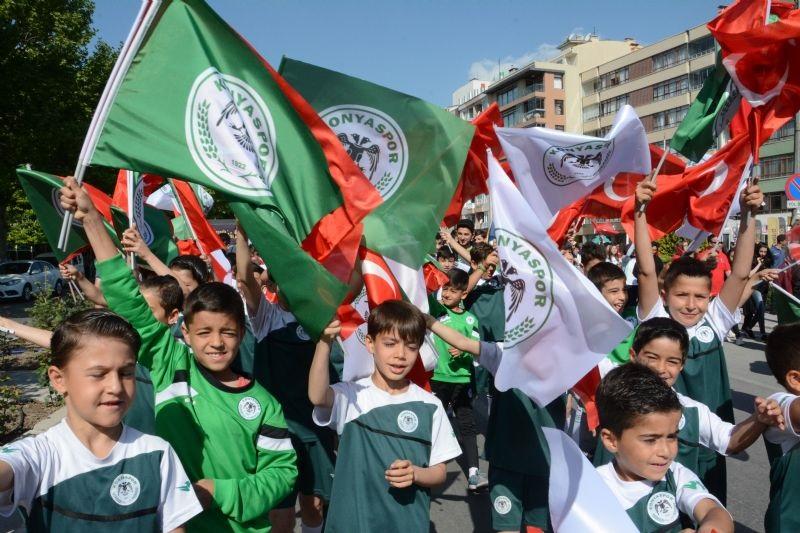 Konyaspor'da 19 Mayıs  çoşkuyla kutlandı