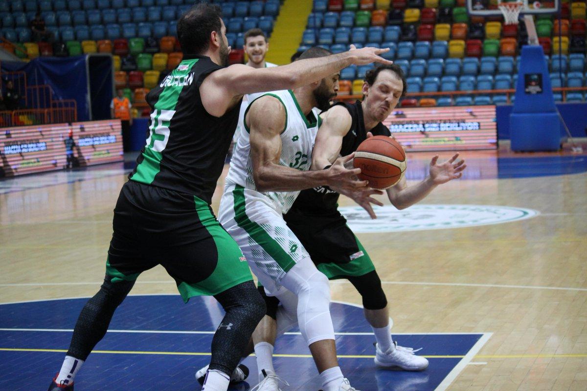 Konyaspor basket yarı final ilk sınavında