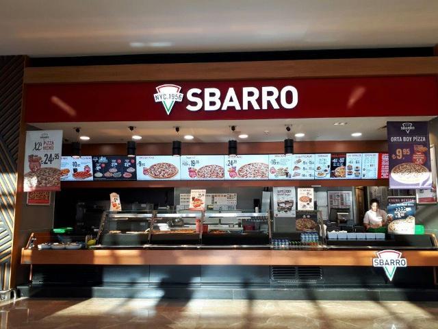 "Sbarro'dan ""patatesli pizza"" artık Kent Plaza ve Novada AVM'de"