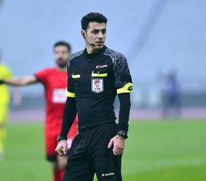 Maçın hakemi Ali Şansalan