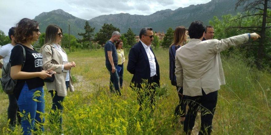 Seydişehir'de Millet Bahçesi çalışmalarına başlandı