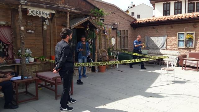 Kafeye ateş açan zanlı tutuklandı