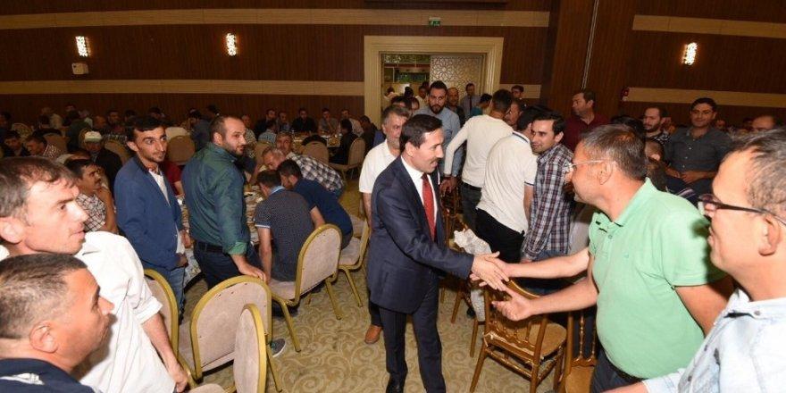 Başkan Kılca, belediye personeliyle iftar yaptı