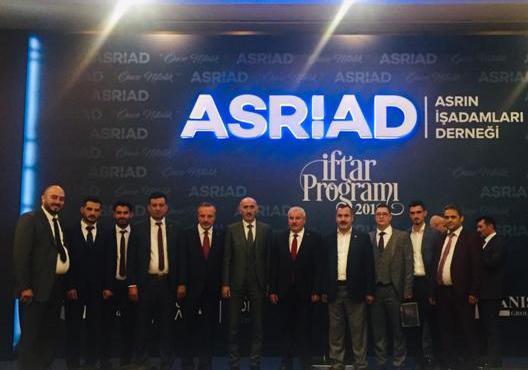 ASRİAD yönetimi İstanbul'da iftarda buluştu