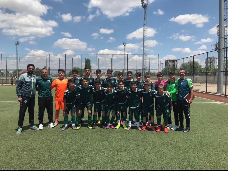 Anadolu Selçukspor U14 takımı 2. turda