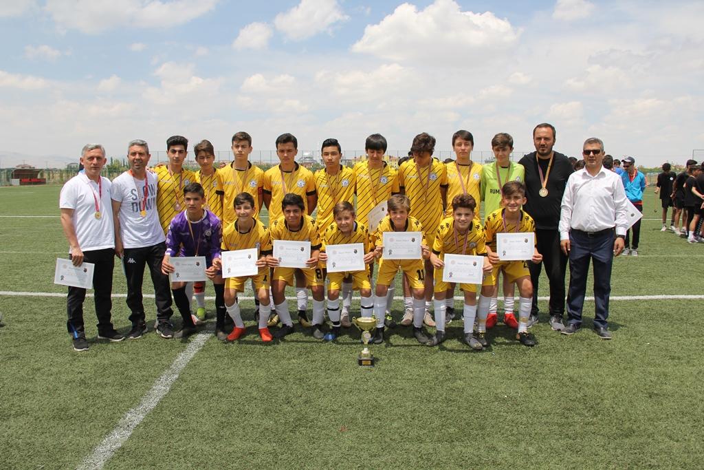 Futbol Şampiyonası  Konya'da yapıldı