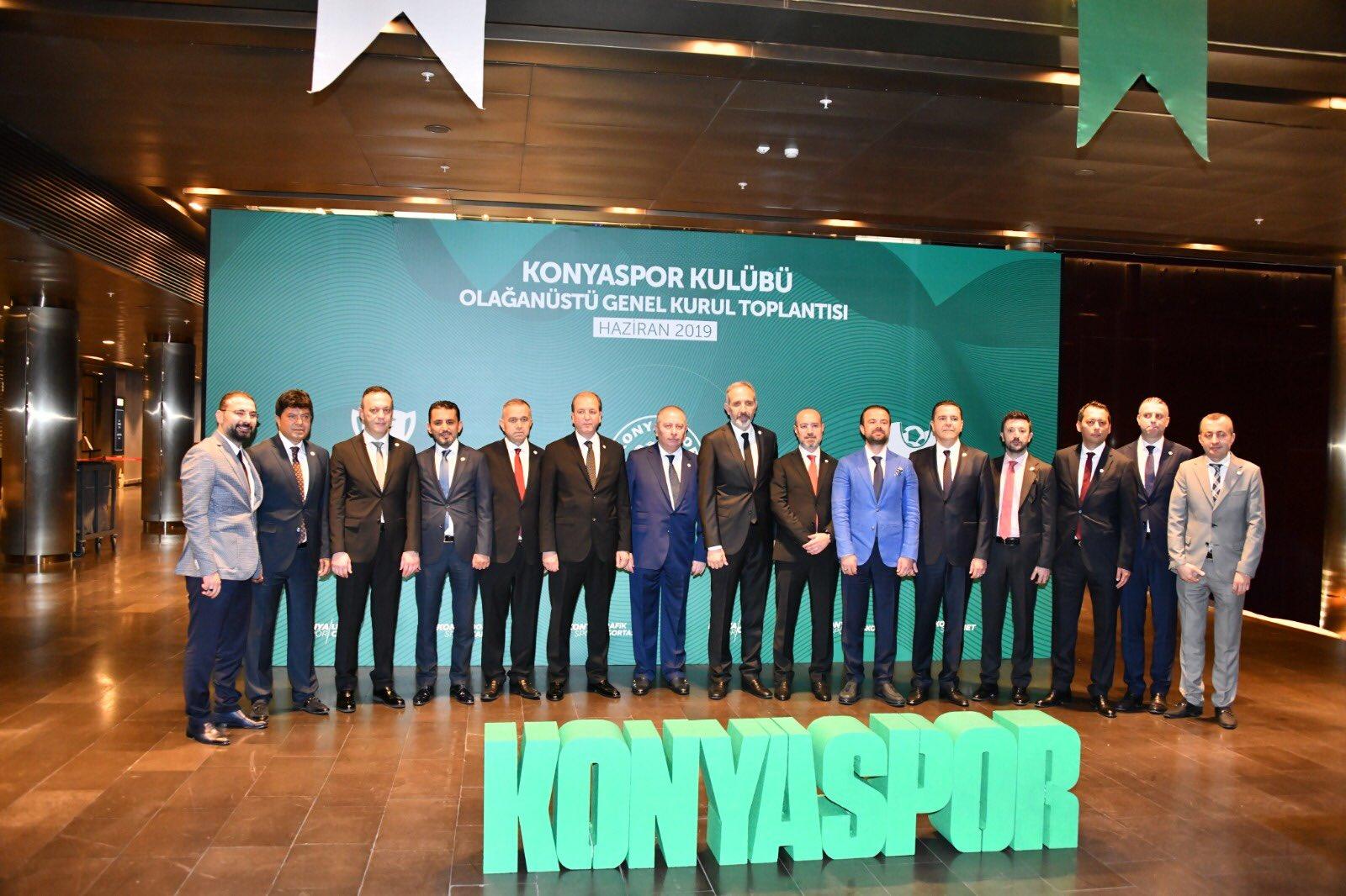 Konyaspor'da görev dağılımı yapıldı