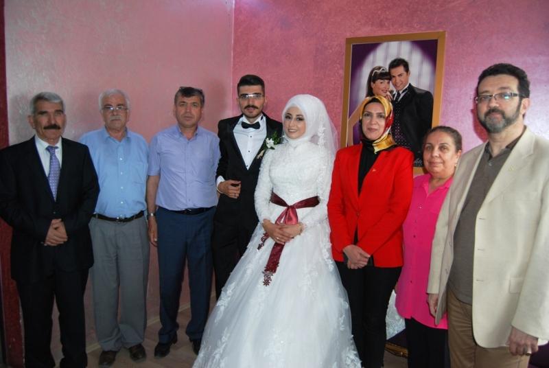Sendikacı Sadi Eriş oğlunu evlendirdi