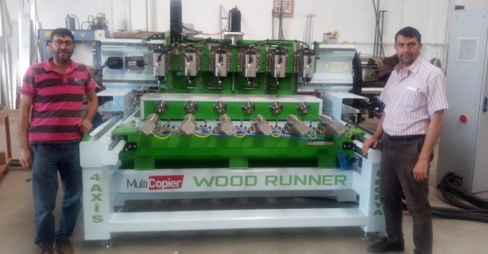 Seydişehir'den Türkiye'ye ve yurtdışına CNC imalatı
