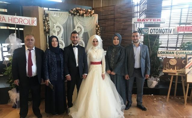 Bahçıvan ailesinde düğün mutluluğu