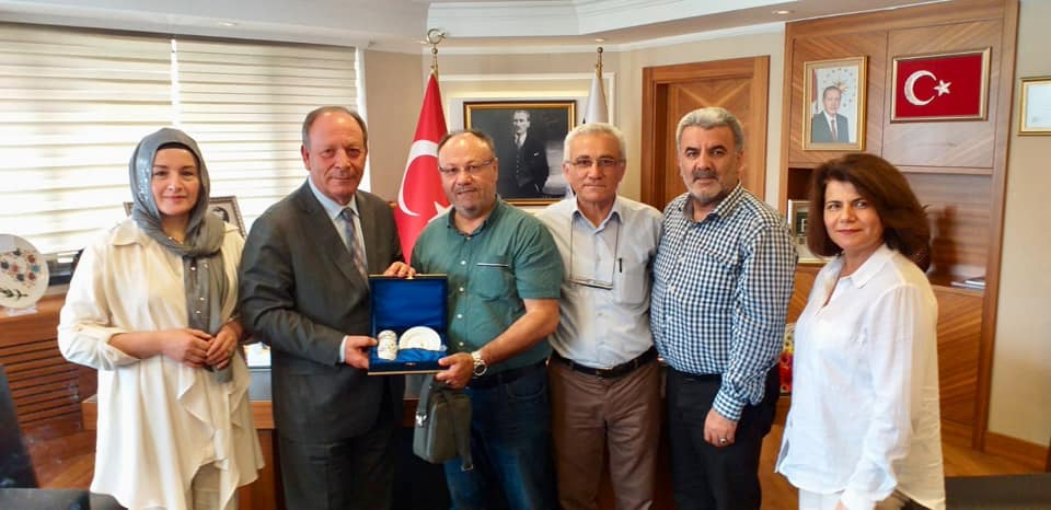 Selçukya'dan Başkan Hüseyin  Oprukçu'ya tebrik ziyareti