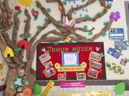 Miniklerden Tohum  Müzesi projesi