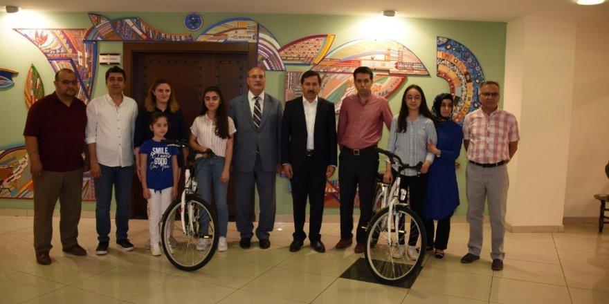 Konya'nın birincileri, Başkan Kılca'yı ziyaret etti