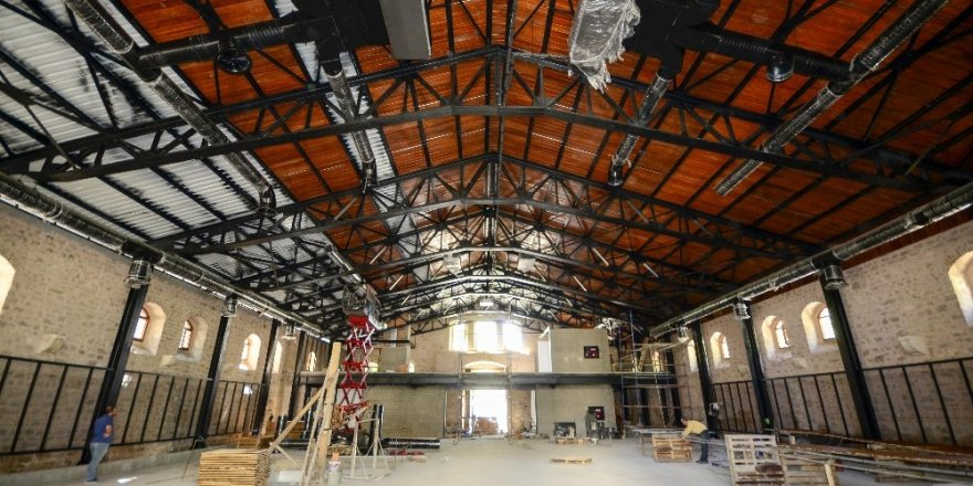 Tantavi Görsel Sanatlar Merkezi 15 Temmuz'da açılıyor