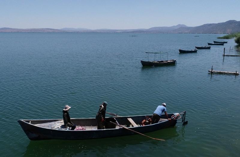 Suğla'da balıkçılar yeni sezondan umutlu