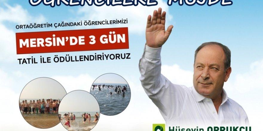 Başkan Oprukçu'dan öğrencilere tatil müjdesi