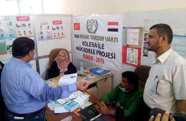 Yemen'de kolera ile mücadele