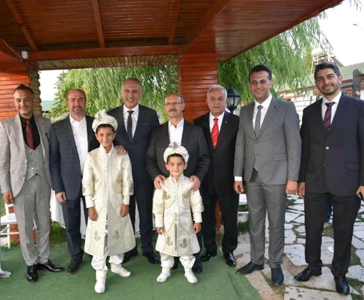 Hasan Melih ve Mehmet  Akif sünnet oldu