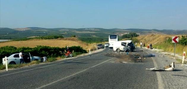 Katliam gibi trafik kazası: 5 ölü, 6 yaralı